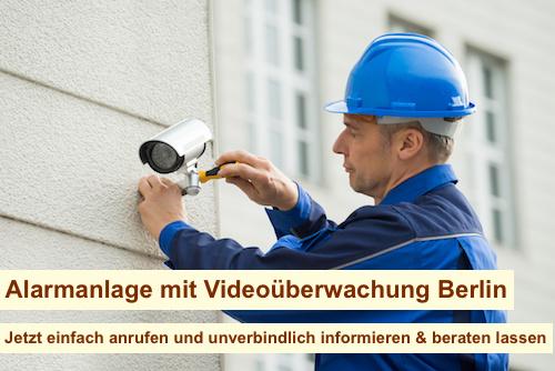 Alarmanlage mit Videoüberwachung Berlin