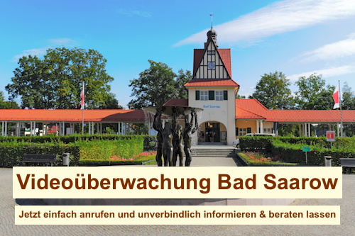Videoüberwachung Bad Saarow