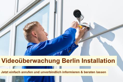 Videoüberwachung Berlin Installation