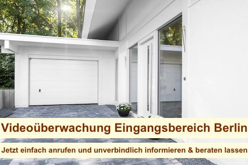 Videoüberwachung Eingangsbereich Berlin