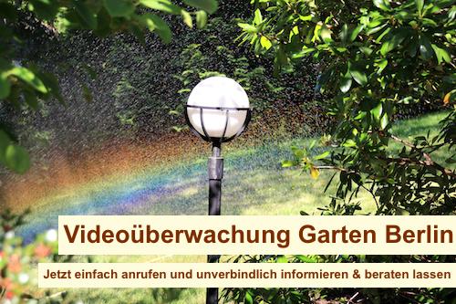 Videoüberwachung Garten Berlin