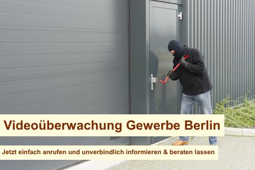 Videoüberwachung Gewerbe Berlin