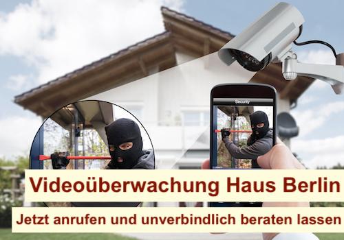 Videoüberwachung Haus Berlin - Einfamilienhaus Videoüberwachungssystem