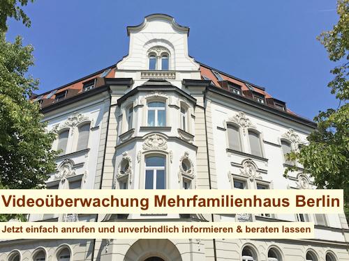 Videoüberwachung Mehrfamilienhaus Berlin