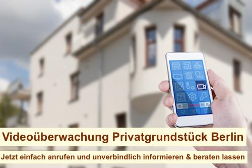 Videoüberwachung Privatgrundstück Berlin