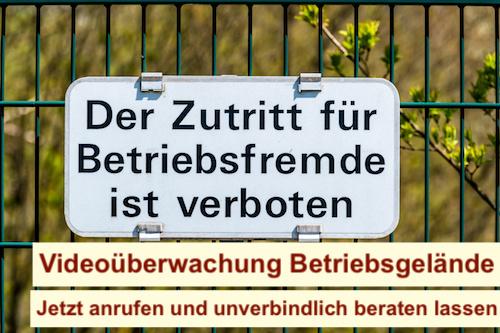 Videoüberwachung Betriebsgelände Berlin