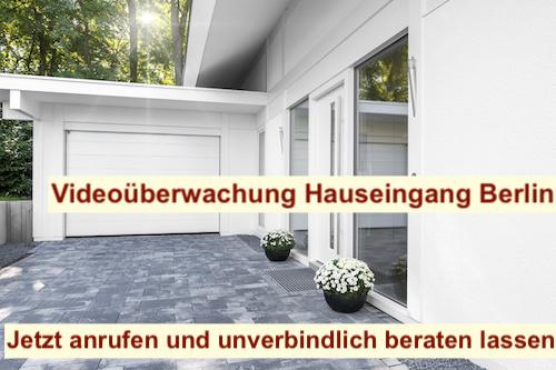 Videoüberwachung Hauseingang Berlin