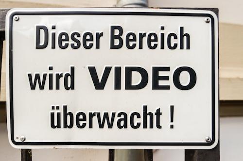 Videoüberwachung Hinweispflicht Berlin