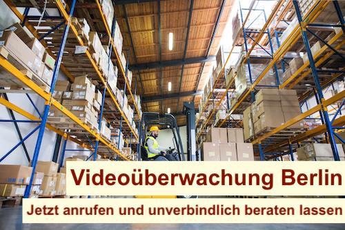 Videoüberwachung Lagerhalle Berlin