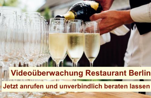 Videoüberwachung Restaurant Berlin