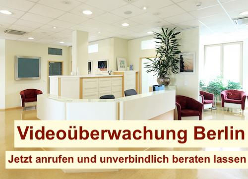 Videoüberwachung im Büro Berlin