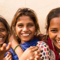 Videoüberwachung in der Schule in Delhi Indien