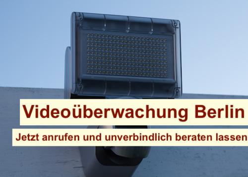 Videoüberwachung mit Bewegungsmelder Berlin